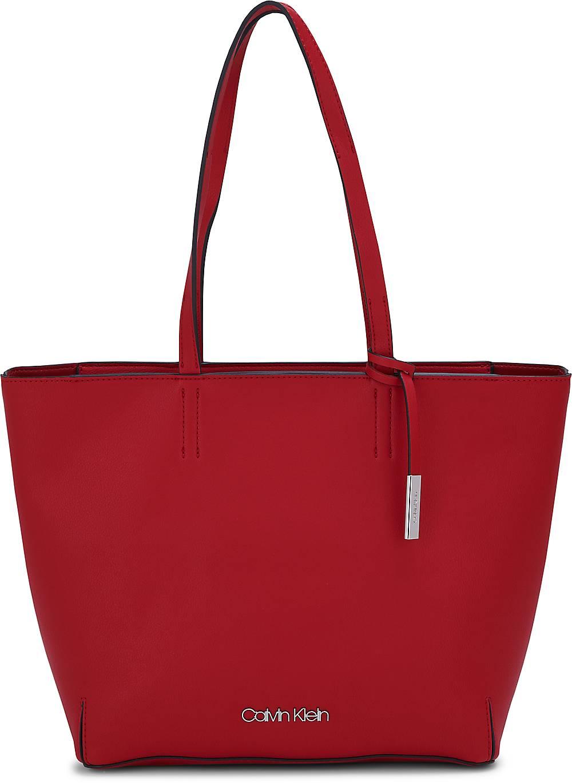 Stitch Ew Shopper von Calvin Klein in rot für Damen Preisvergleich