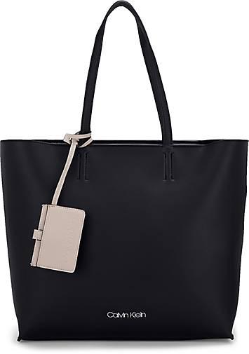 c405c544593b6 Calvin Klein Tasche TACK SHOPPER in schwarz kaufen - 48041101