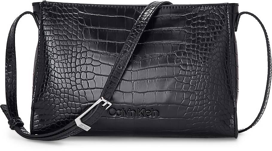 Calvin Klein Tasche WINGED EW CROSSBODY CROC