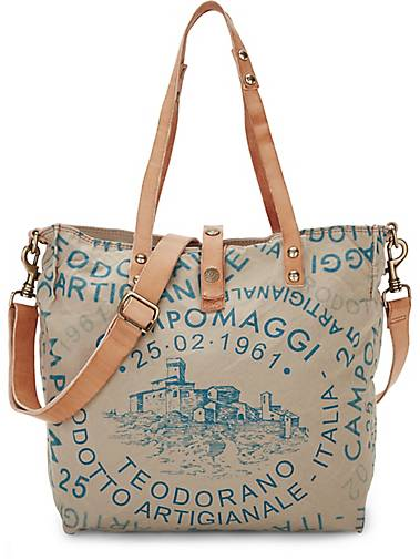 Campomaggi Canvas-Shopper C1671