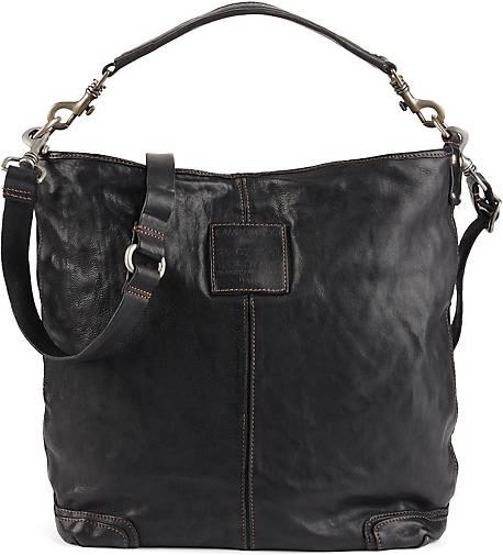 f93da44a00eac Campomaggi Vintage-Shopper in schwarz kaufen - 42507401