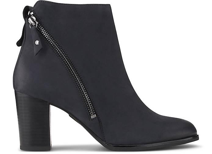 Caprice »Leder« Stiefelette, Absatzform: Blockabsatz online kaufen | OTTO