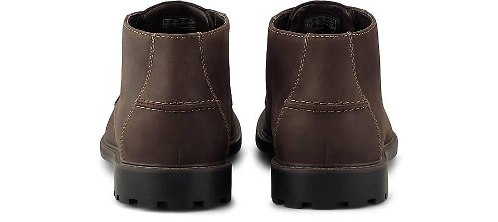Clarks Schnürer Curington Over In Braun-mittel Kaufen Schnür-boots