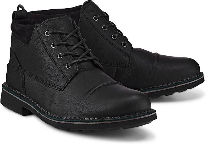Clarks Schnürer LAWES TOP in schwarz kaufen Gute - 47832901 | GÖRTZ Gute kaufen Qualität beliebte Schuhe 0eaa15