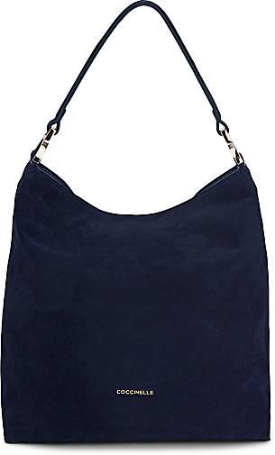 76877e4337b0c Coccinelle Tasche ARLETTIS SUEDE in blau-dunkel kaufen - 46758403 ...
