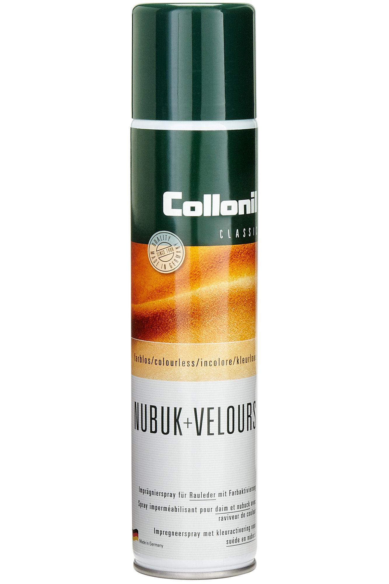 Collonil NUBUK+VELOURS - Imprägnierspray für Rauleder mit Farbaktivierung (300ml)