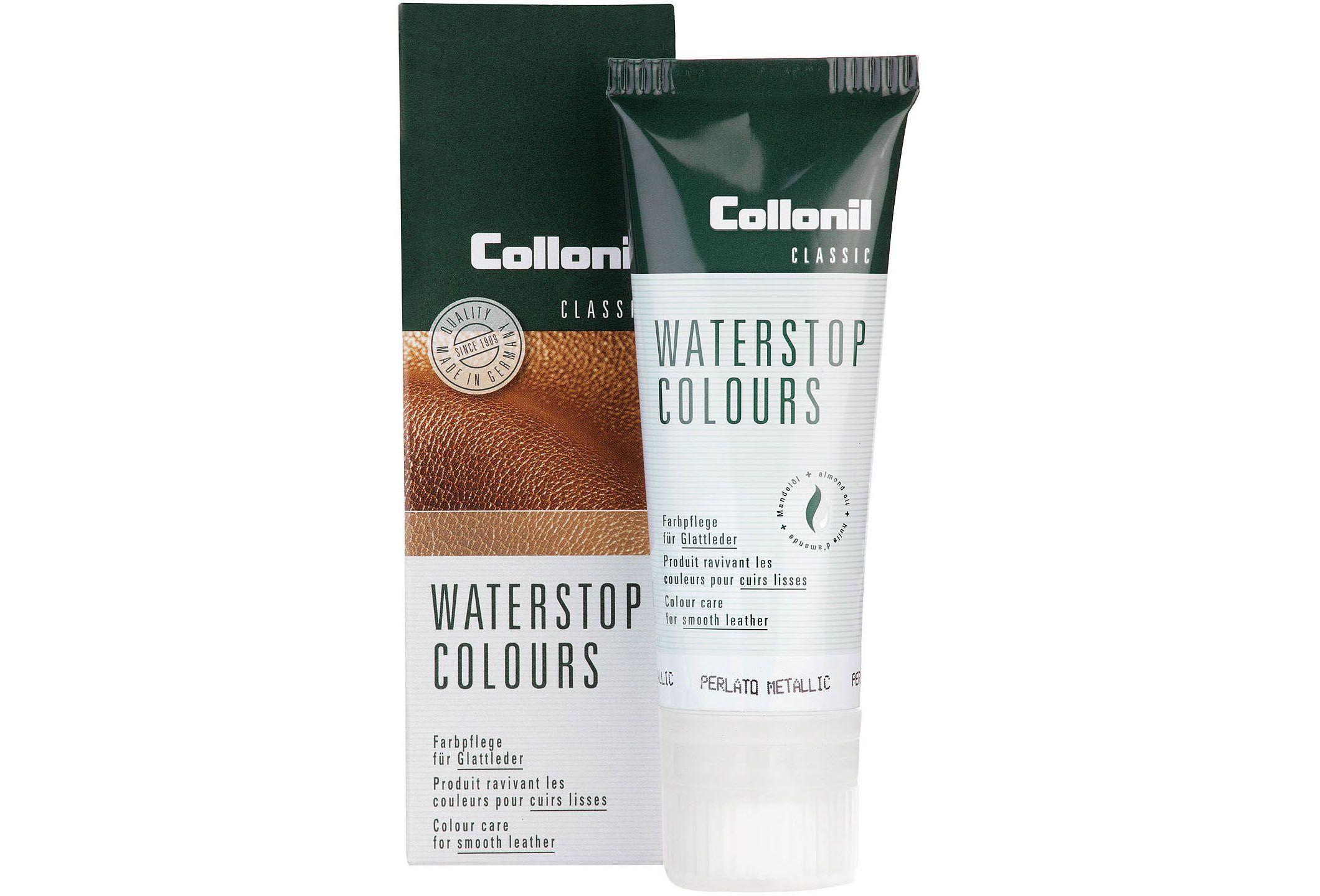 Collonil WATERSTOP COLOURS - Farbpflege für Glattleder (Perlato Metallic)