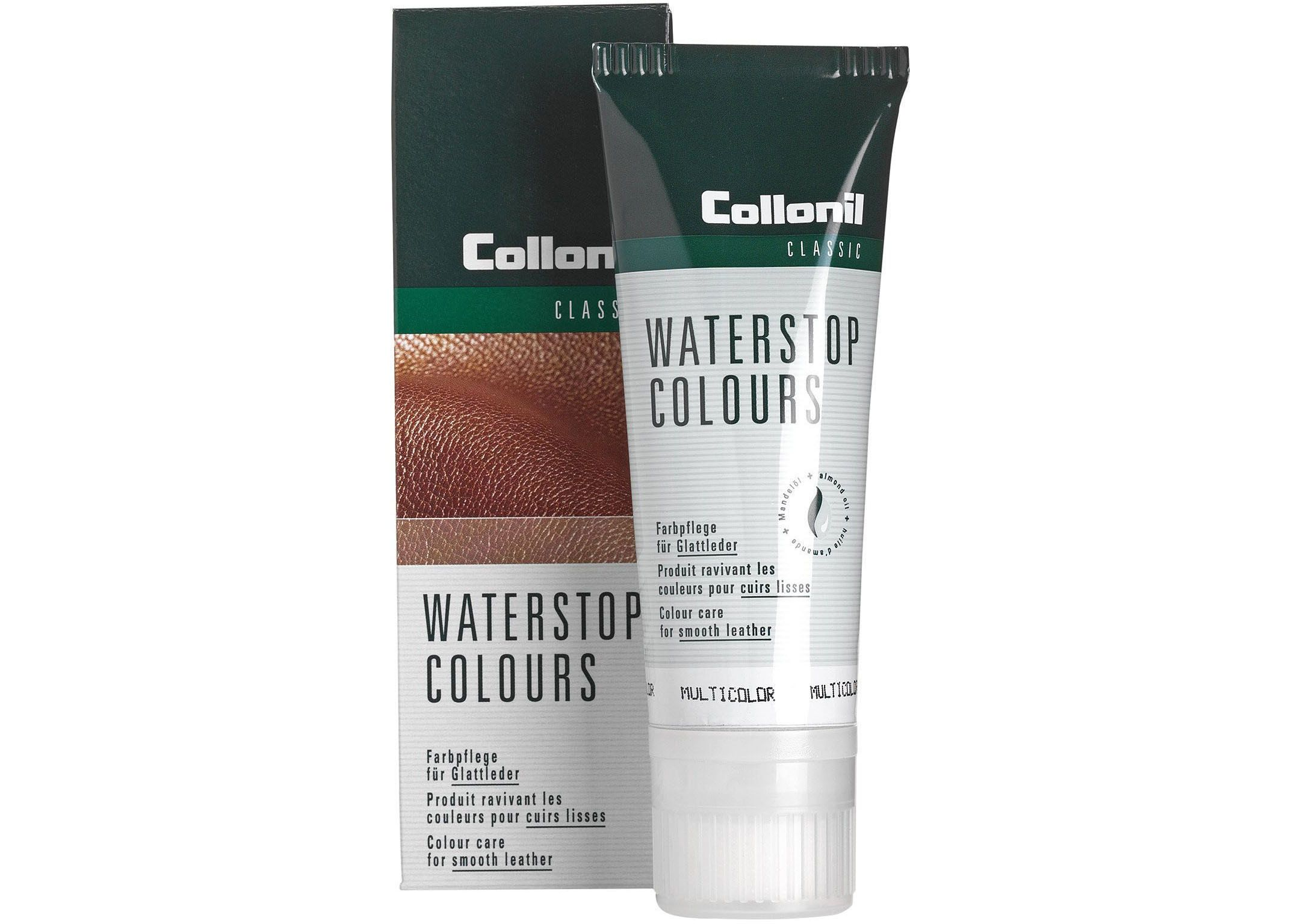 Collonil WATERSTOP COLOURS - Farbpflege für Glattleder (neutral)