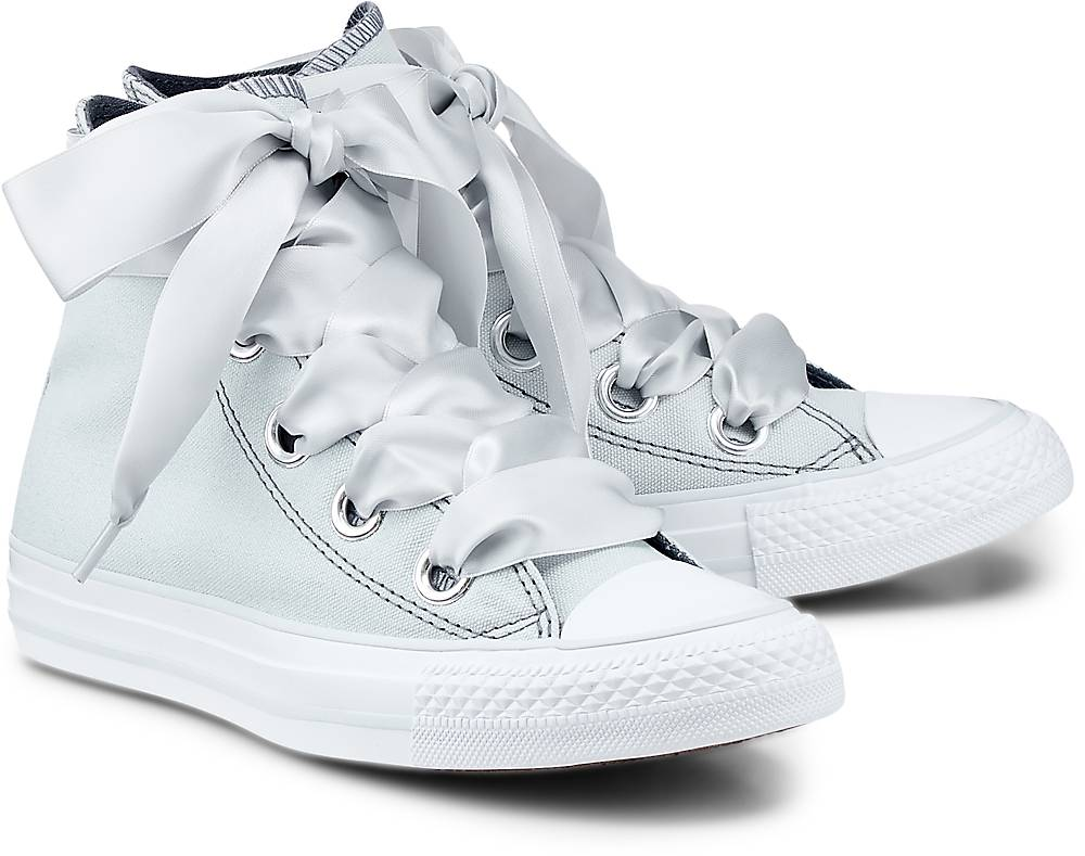 Converse, Ctas Big Eyelets – Hi in grau, Sneaker für Damen Gr. 36