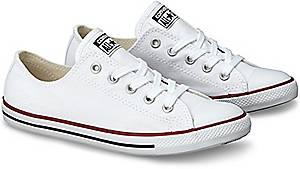 Converse, Ctas Dainty Ox in weiß, Schnürschuhe für Damen