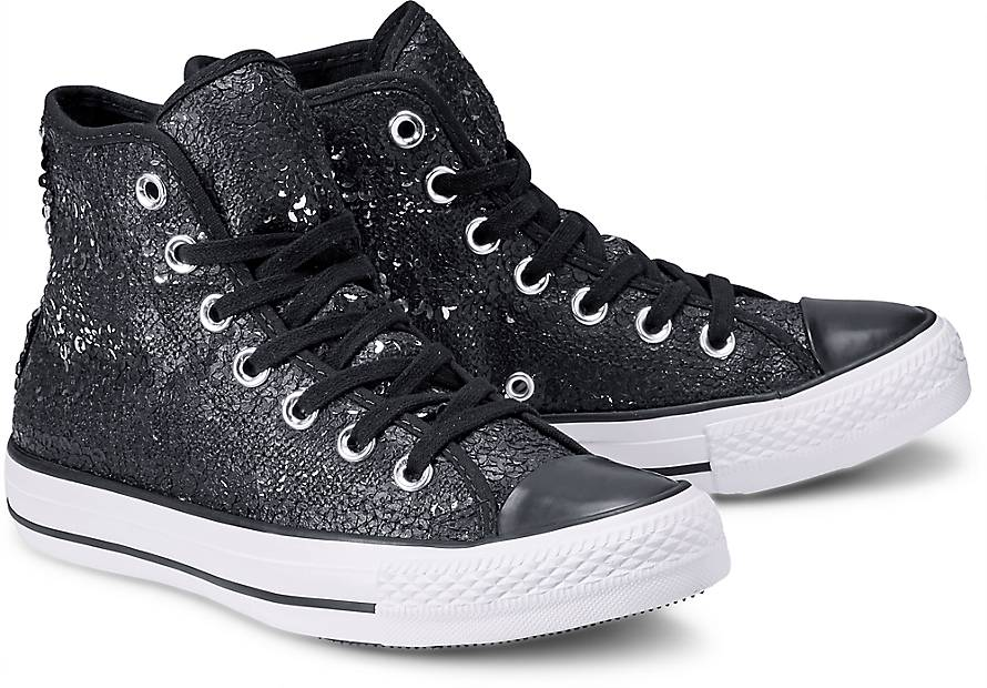 converse chucks schwarz glitzer. Black Bedroom Furniture Sets. Home Design Ideas