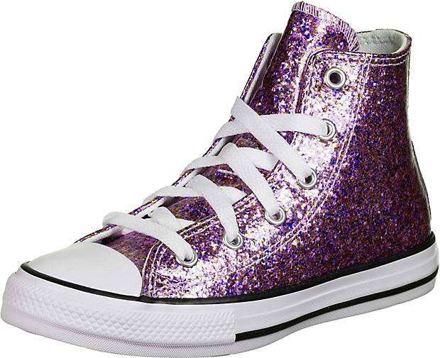 Converse Chuck Taylor All Star Coated Glitter Sneaker Kinder