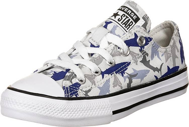Converse Chuck Taylor All Star Shark Bite OX Sneaker Kinder