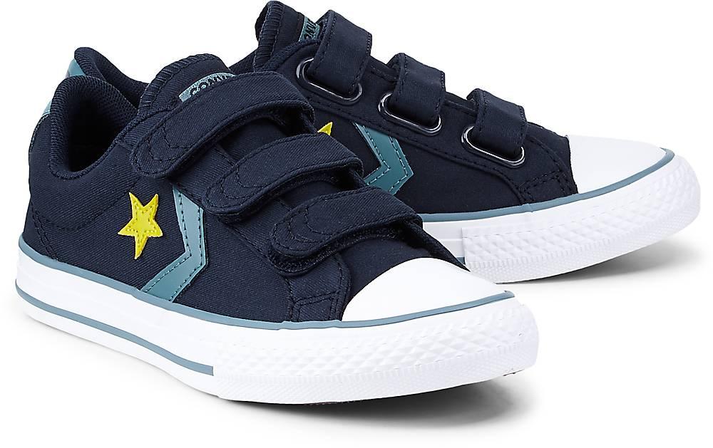 Star Player 3v ? Ox von Converse in blau für Jungen. Gr. 31,32,33,34,35 Preisvergleich