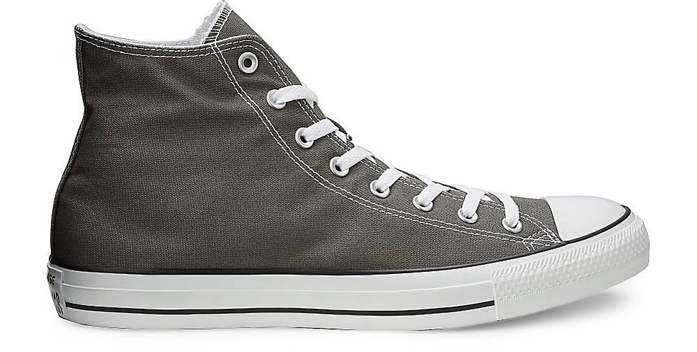 Converse Damen Sneaker Ctas Core Hi Sneaker Grau Dunkel