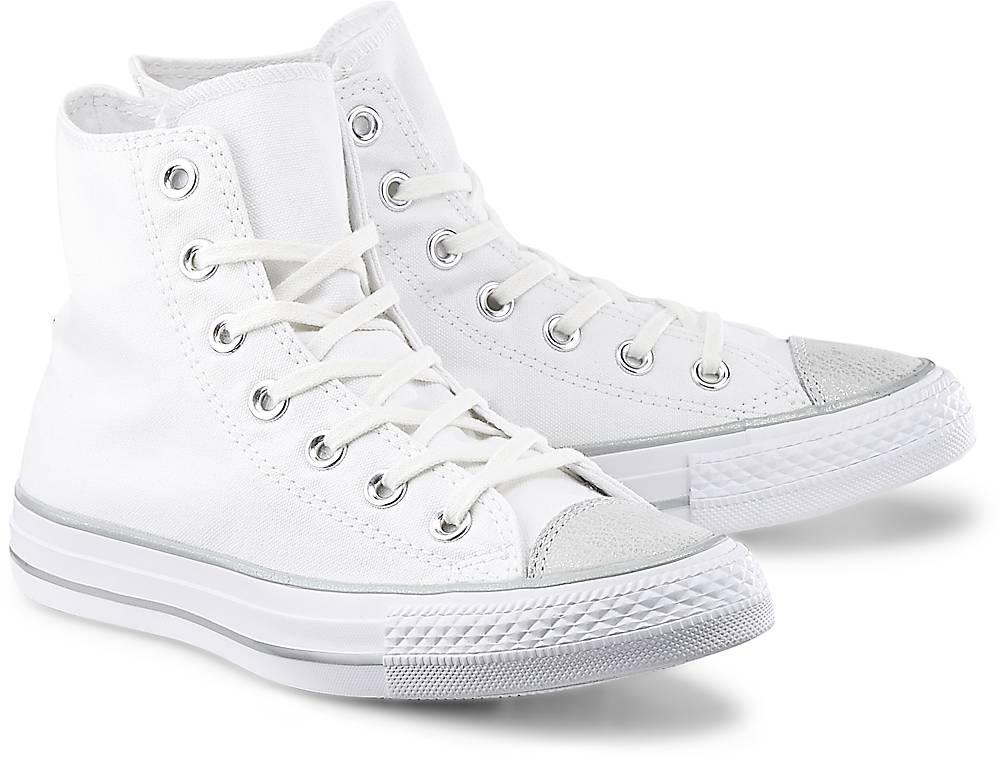 Converse, Sneaker Ctas Hi in weiß, Sneaker für Damen Gr. 36