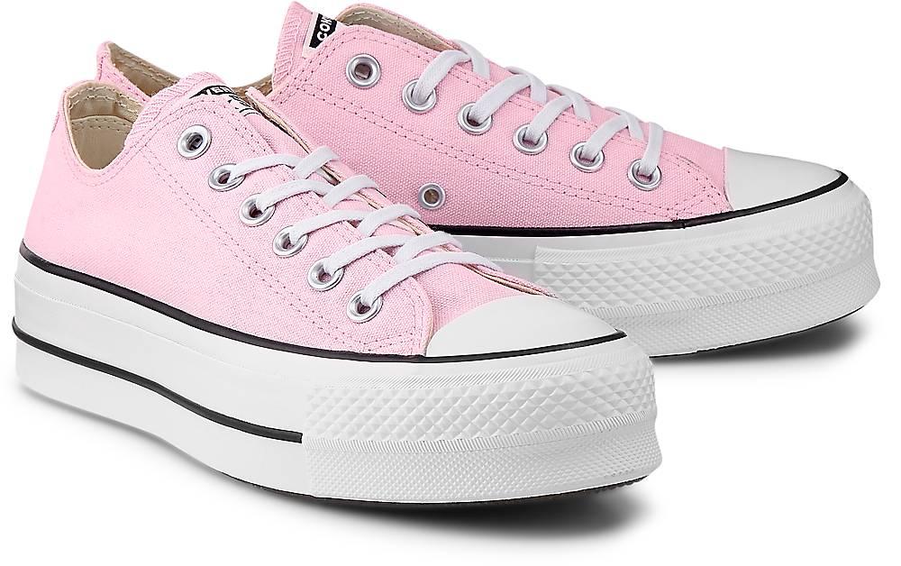 Converse, Sneaker Ctas Lift Ox in rosa, Sneaker für Damen Gr. 36