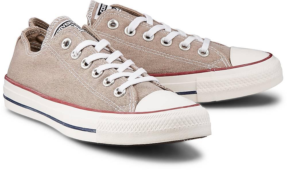 Sneaker Ctas Ox von Converse in beige für Damen. Gr. 36,37.5,38,39,39.5,40,41 Preisvergleich