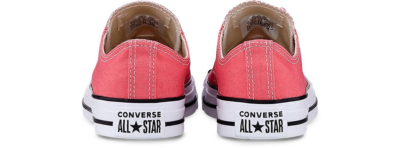 Converse Sneaker CTAS OX 43243321 in koralle kaufen - 43243321 OX | GÖRTZ 7213eb