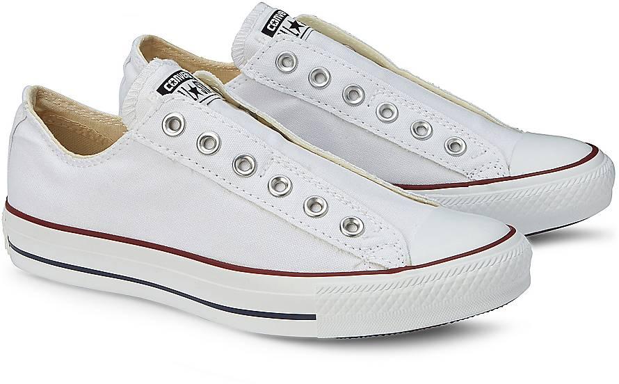 converse sneaker ctas slip on sneaker low wei g rtz. Black Bedroom Furniture Sets. Home Design Ideas