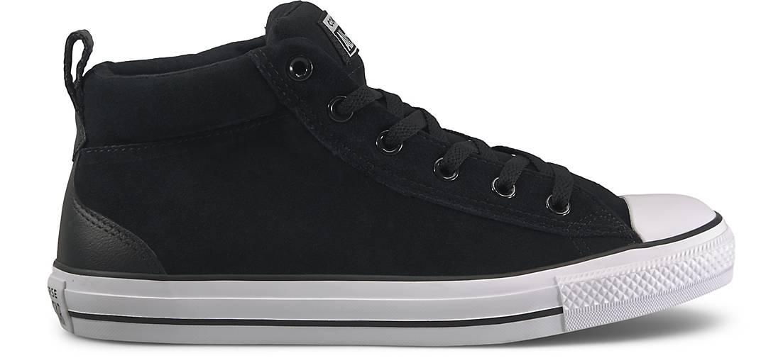 Converse Sneaker CTAS STREET MID schwarz   GÖRTZ 48576602