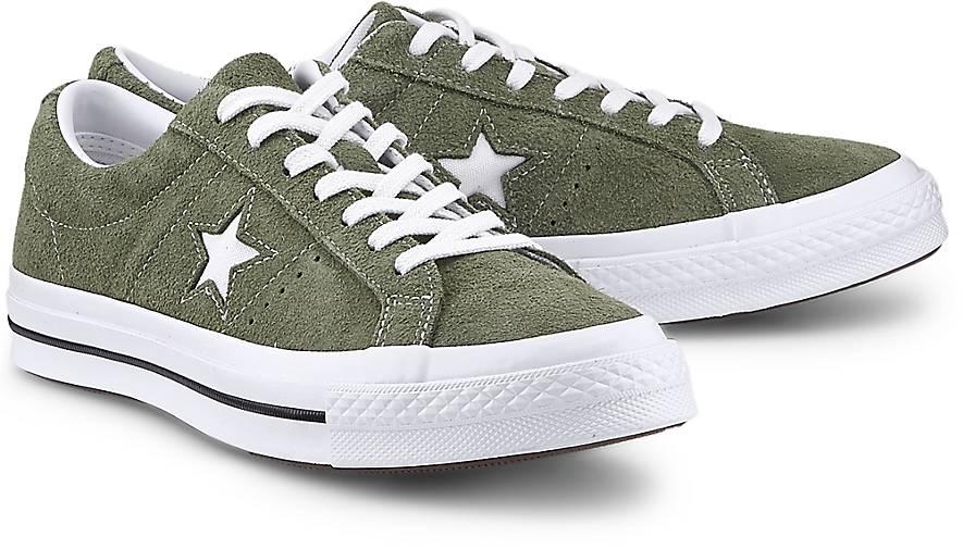 Converse Turnschuhe ONE STAR – OX in khaki kaufen GÖRTZ - 47535901 GÖRTZ kaufen Gute Qualität beliebte Schuhe d0dfa8