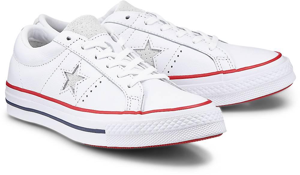 Sneaker One Star ? Ox von Converse in weiß für Damen. Gr. 36,37,37.5,38,39,39.5,40,41.5,42 Preisvergleich