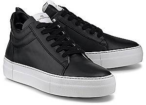 Copenhagen, Leder-Sneaker in schwarz, Sneaker für Damen