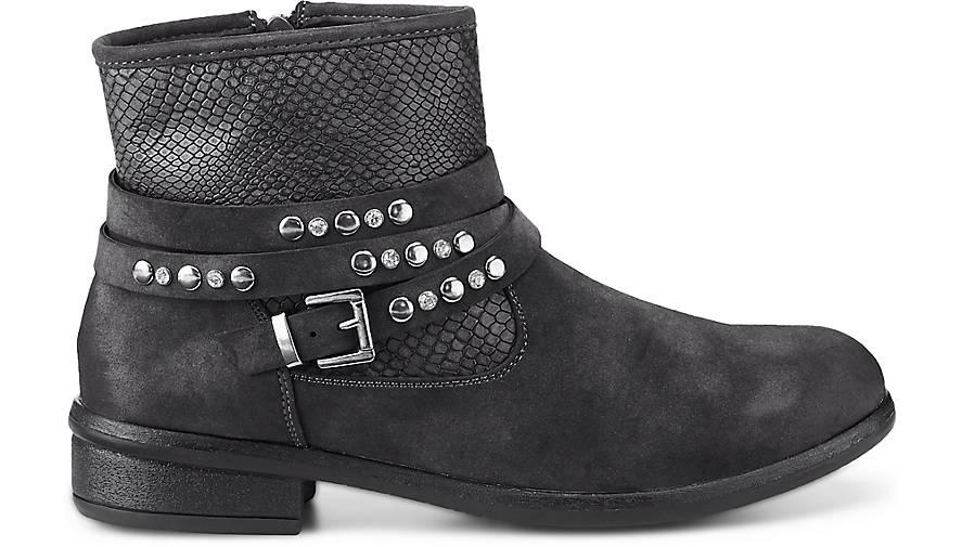 Damen dunkel boots Damen Grau Biker Biker Biker Grau boots Grau dunkel boots Damen dunkel qqgxC8nrw