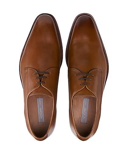 Cox Business-Schnürschuh Gute in braun-mittel kaufen - 46925102 | GÖRTZ Gute Business-Schnürschuh Qualität beliebte Schuhe b96238