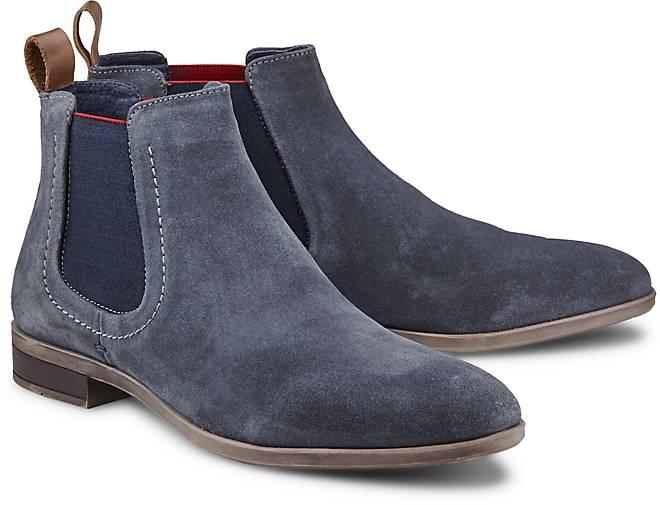 cox chelsea boots chelsea boots blau dunkel g rtz. Black Bedroom Furniture Sets. Home Design Ideas