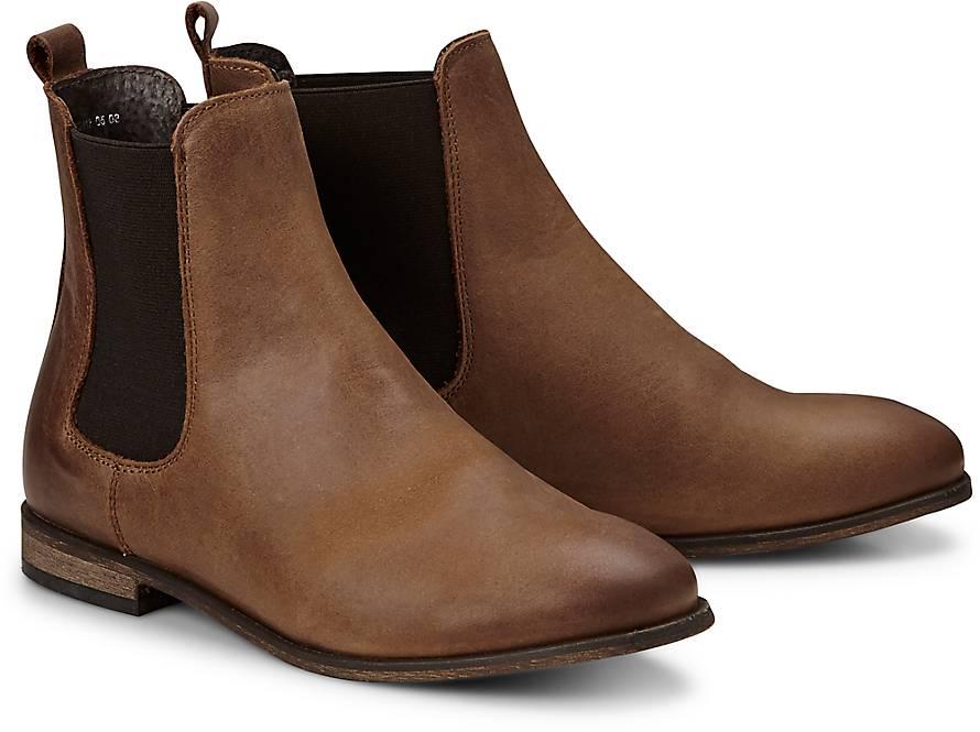 cox chelsea boots klassische stiefeletten braun mittel goertz. Black Bedroom Furniture Sets. Home Design Ideas