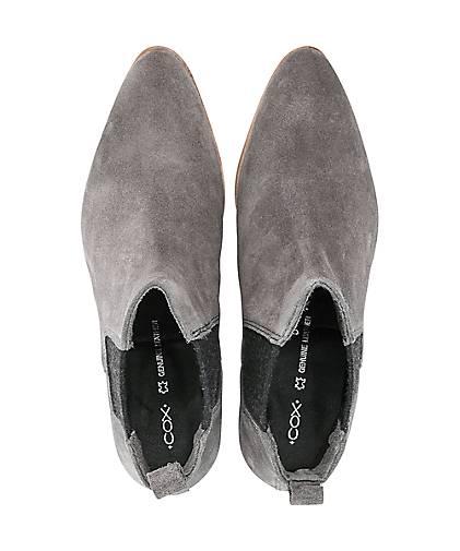 Cox Chelsea-Boots in grau-dunkel kaufen - Qualität 46721202 | GÖRTZ Gute Qualität - beliebte Schuhe 978655