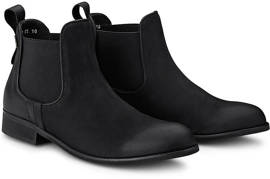 cox chelsea boots klassische stiefeletten schwarz. Black Bedroom Furniture Sets. Home Design Ideas
