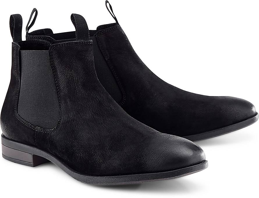 cox chelsea boots stiefelette schwarz goertz. Black Bedroom Furniture Sets. Home Design Ideas