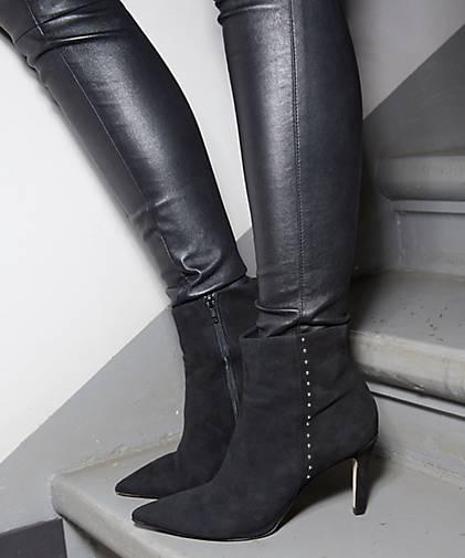 Damen Damen Fashion Schwarz stiefelette Fashion z4xd1q5wx
