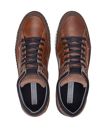 Cox Freizeit-Schnürer in braun-dunkel Qualität kaufen - 46977501 GÖRTZ Gute Qualität braun-dunkel beliebte Schuhe 9cbb46