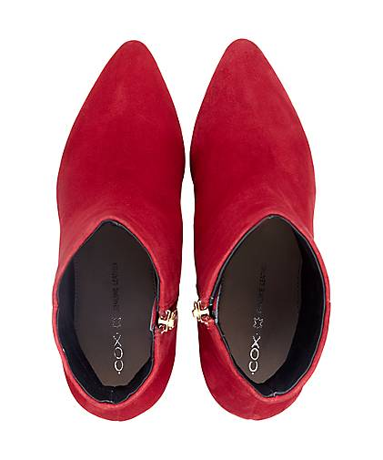 Cox - Klassik-Stiefelette in rot kaufen - Cox 46578904 | GÖRTZ 625eea