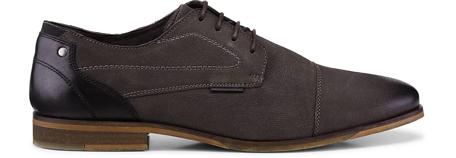 Cox Leder-Schnürer in grau-dunkel kaufen - 48194701 GÖRTZ Gute Gute Gute Qualität beliebte Schuhe b85c47