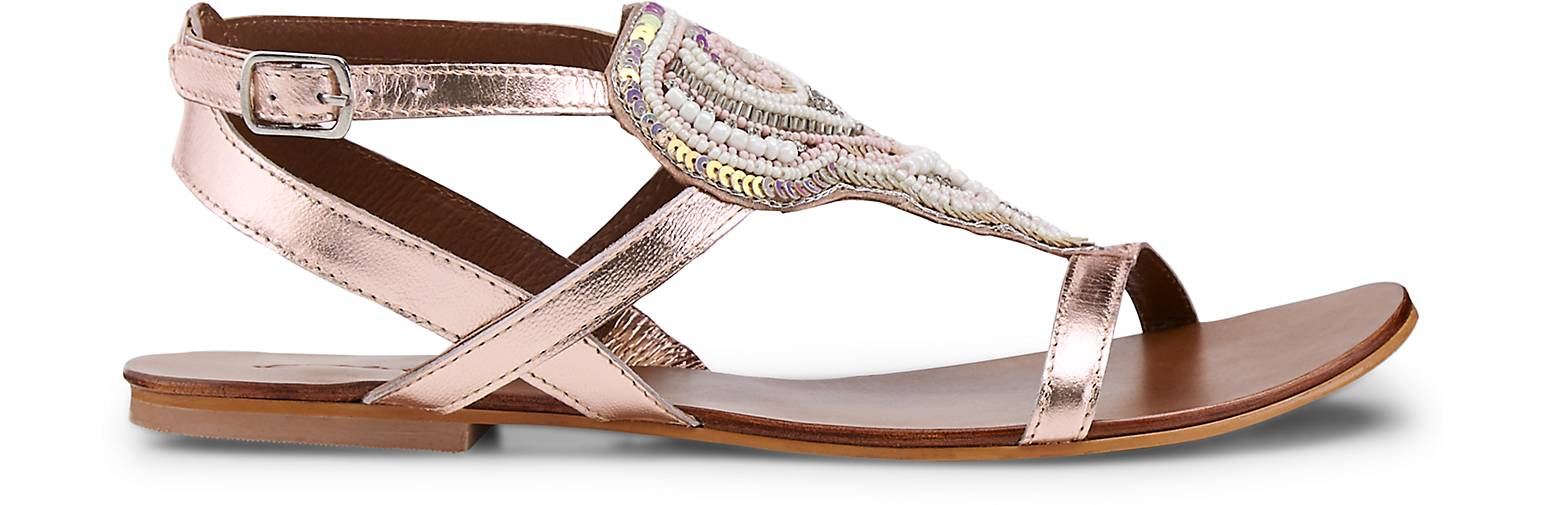 Cox Metallic-Sandalette 47031804 in gold kaufen - 47031804 Metallic-Sandalette | GÖRTZ Gute Qualität beliebte Schuhe 1492ce