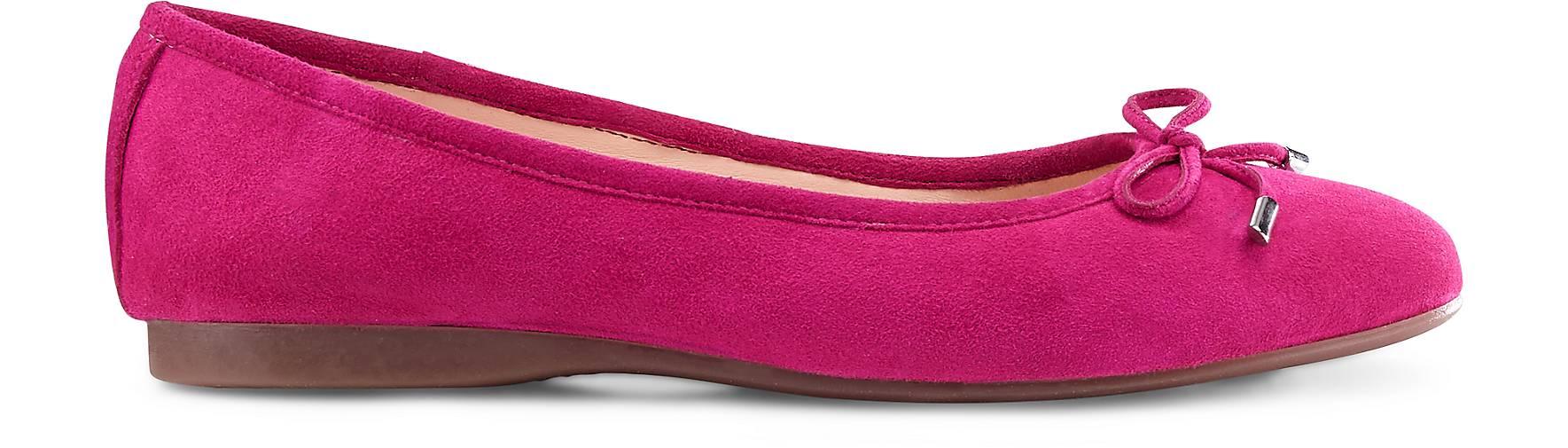 Cox Nubuk-Ballerina Qualität in Rosa kaufen - 45446908 GÖRTZ Gute Qualität Nubuk-Ballerina beliebte Schuhe c16a5e