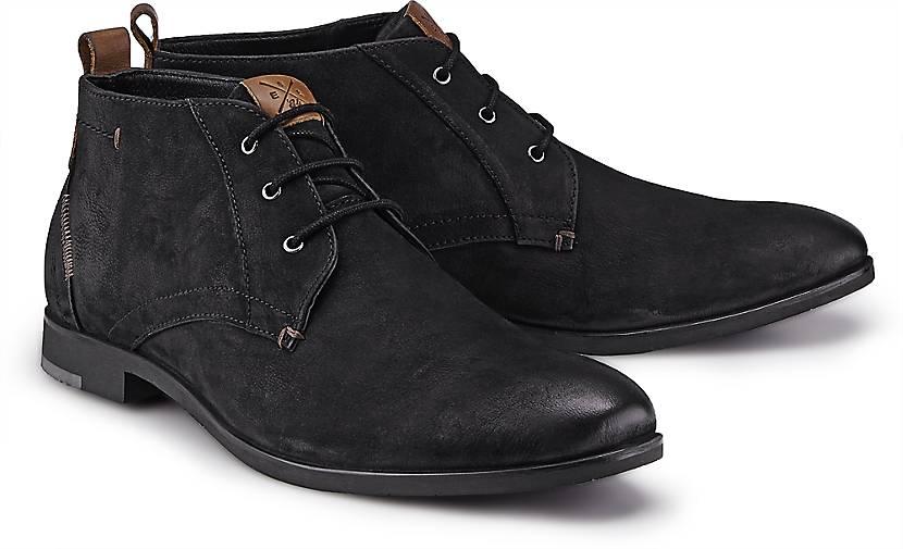 cox nubuk boots freizeit stiefel schwarz g rtz. Black Bedroom Furniture Sets. Home Design Ideas