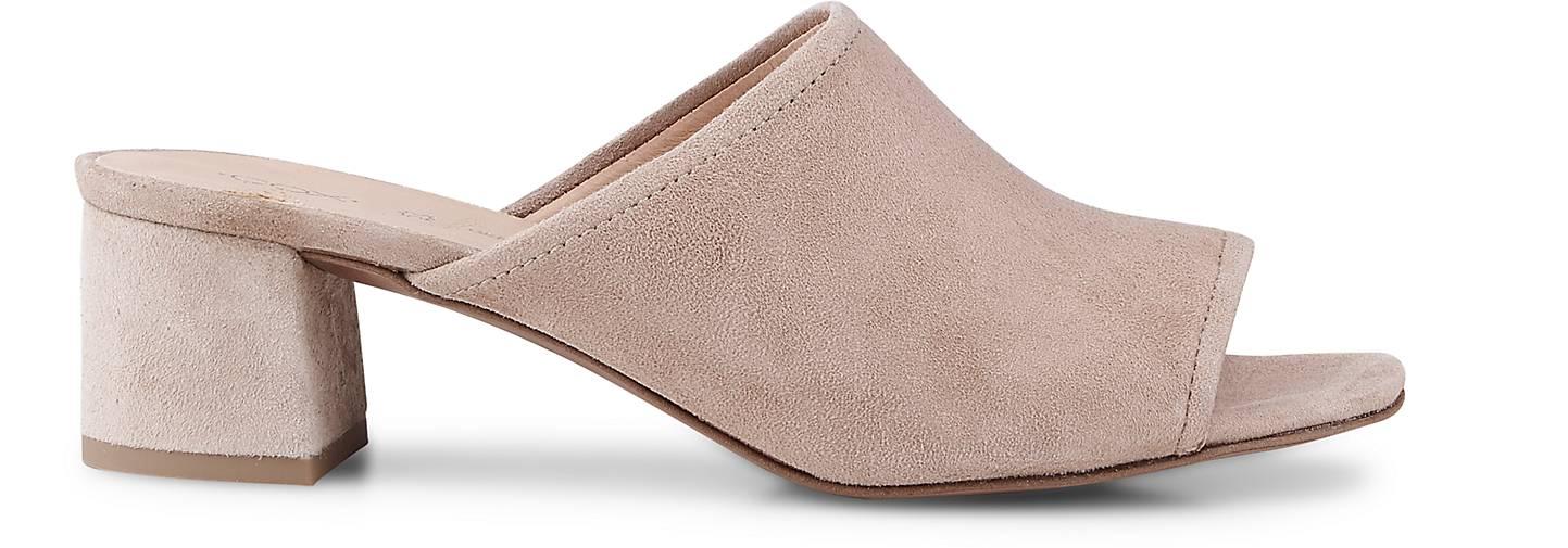 Cox Nubuk-Mule in beige kaufen - - - 46403002 GÖRTZ Gute Qualität beliebte Schuhe b4fc92