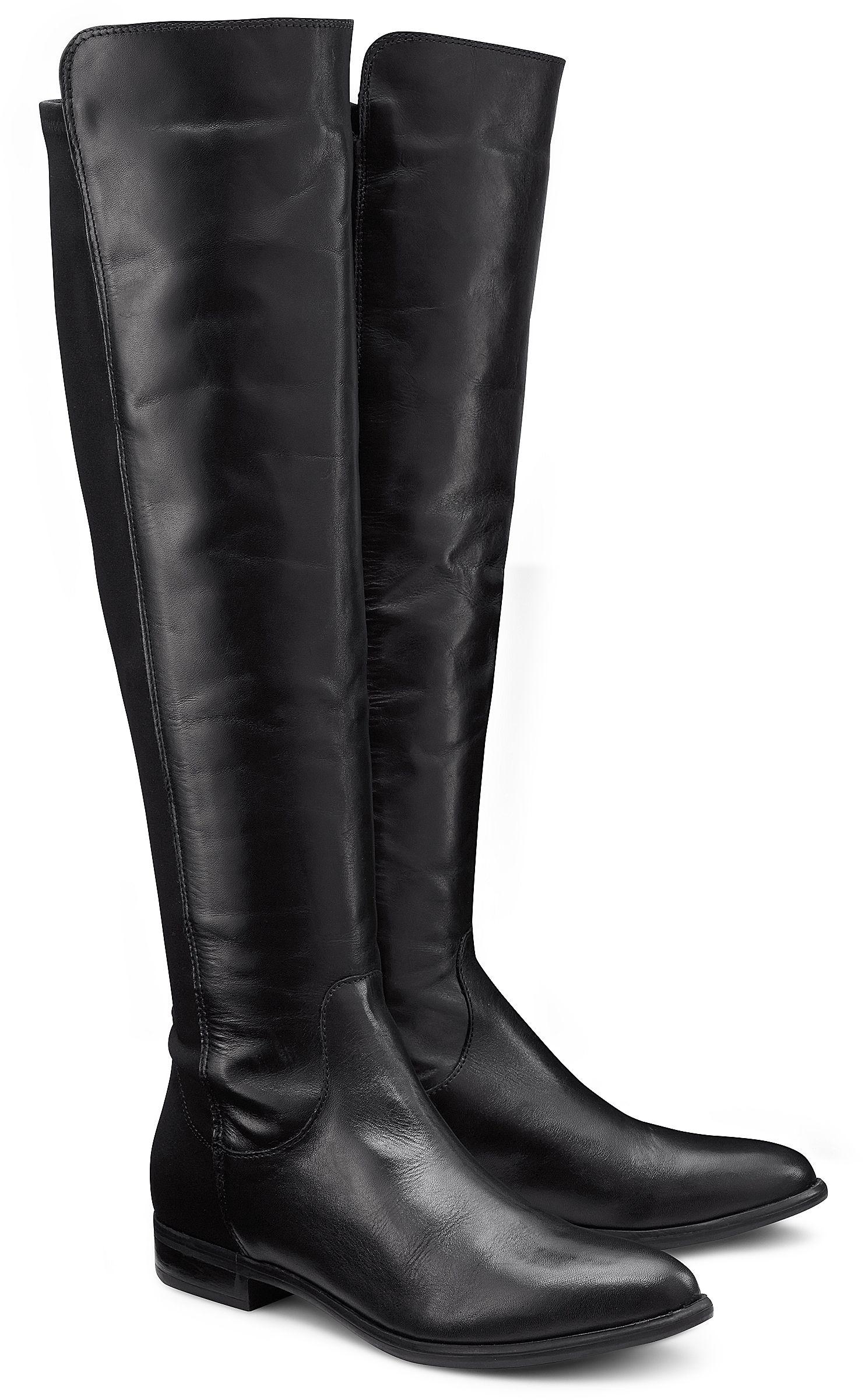 Overknee Stiefel von Cox in schwarz für Damen. Gr. 36,37,38,39,40,41,42 f4a38d9a26
