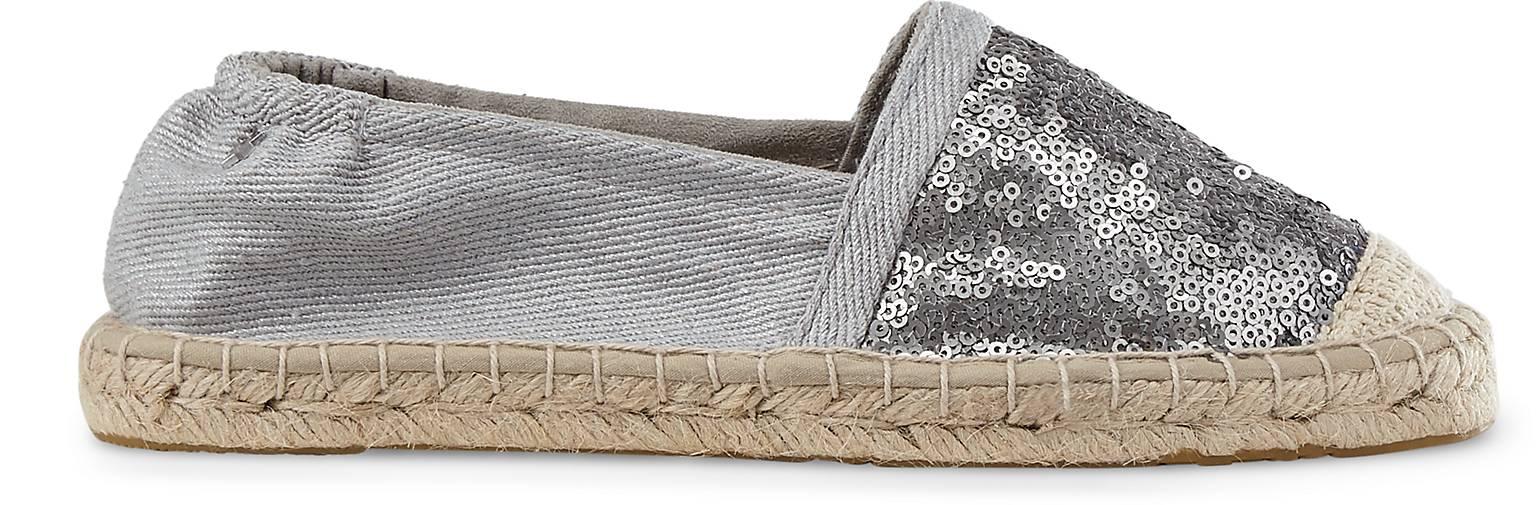 cox pailletten espadrille espadrilles silber g rtz. Black Bedroom Furniture Sets. Home Design Ideas