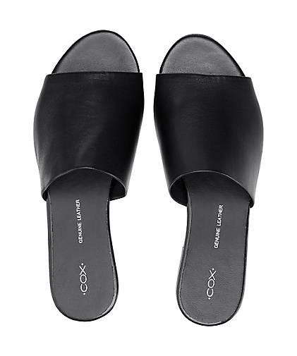 Cox Pantolette in schwarz kaufen - 46424302 GÖRTZ GÖRTZ GÖRTZ Gute Qualität beliebte Schuhe b3a658