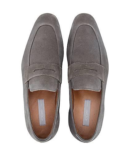 Cox - Penny-Loafer in grau-dunkel kaufen - Cox 45424804 GÖRTZ Gute Qualität beliebte Schuhe f0d69e