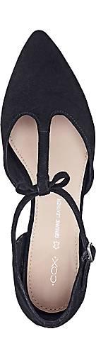 Cox - Riemchen-Ballerina in schwarz kaufen - Cox 46142301 | GÖRTZ 810992