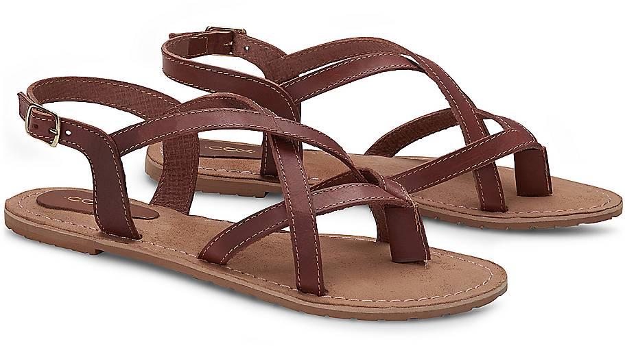 Cox Damen Riemchen-Sandalette Kaufen Online-Shop Billig