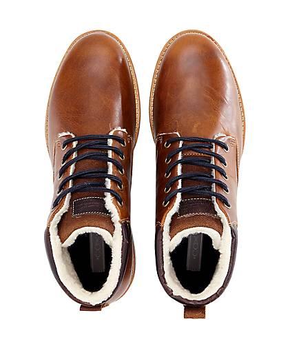 Cox Schnür-Boots in braun-dunkel kaufen - 46933001 | Schuhe GÖRTZ Gute Qualität beliebte Schuhe | a11478